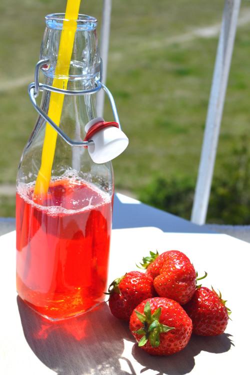 Kompot truskawkowy bez cukru