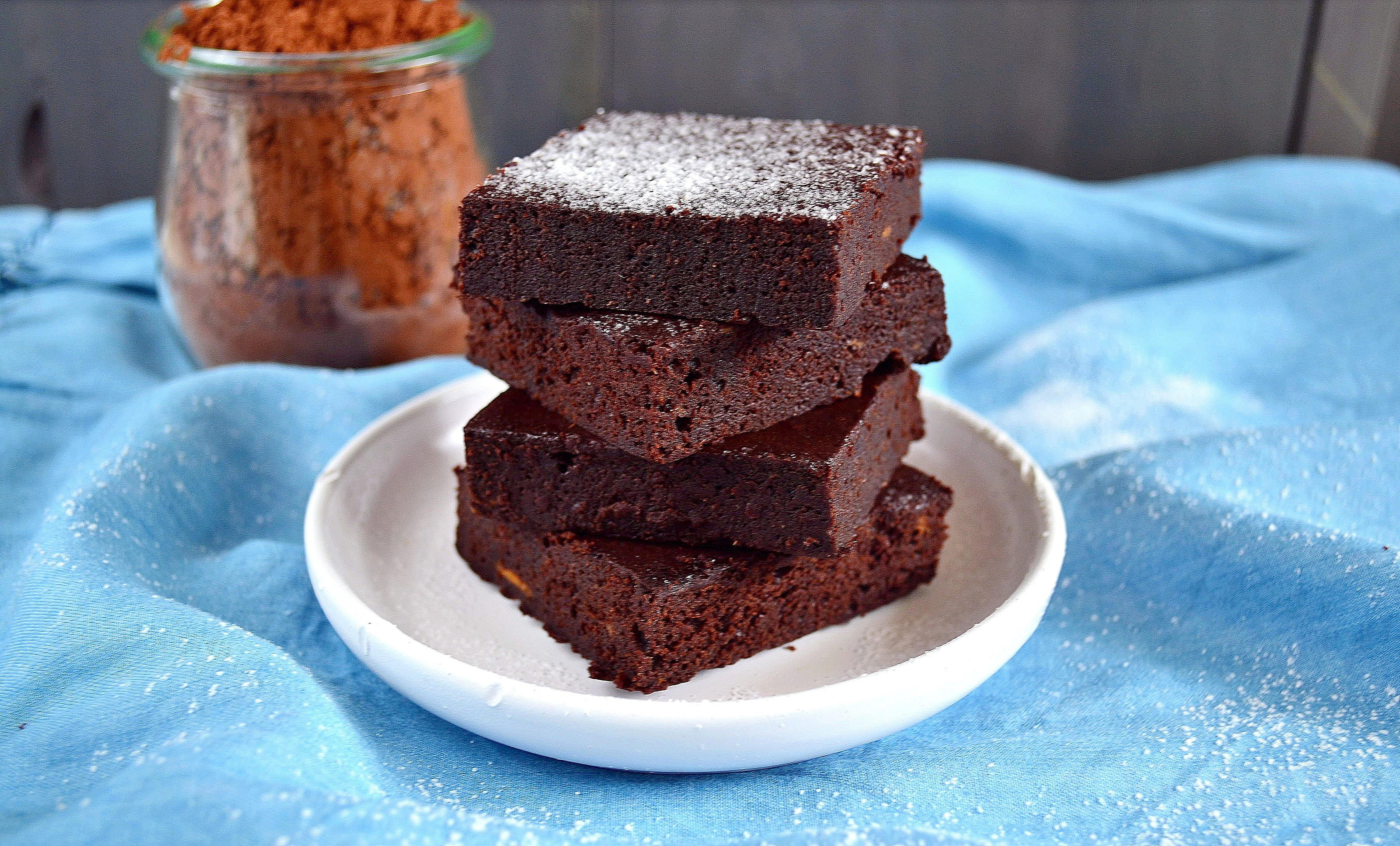 Batatowe brownie bez cukru
