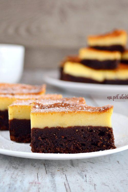 Sernik na czekoladowym spodzie bez cukru1