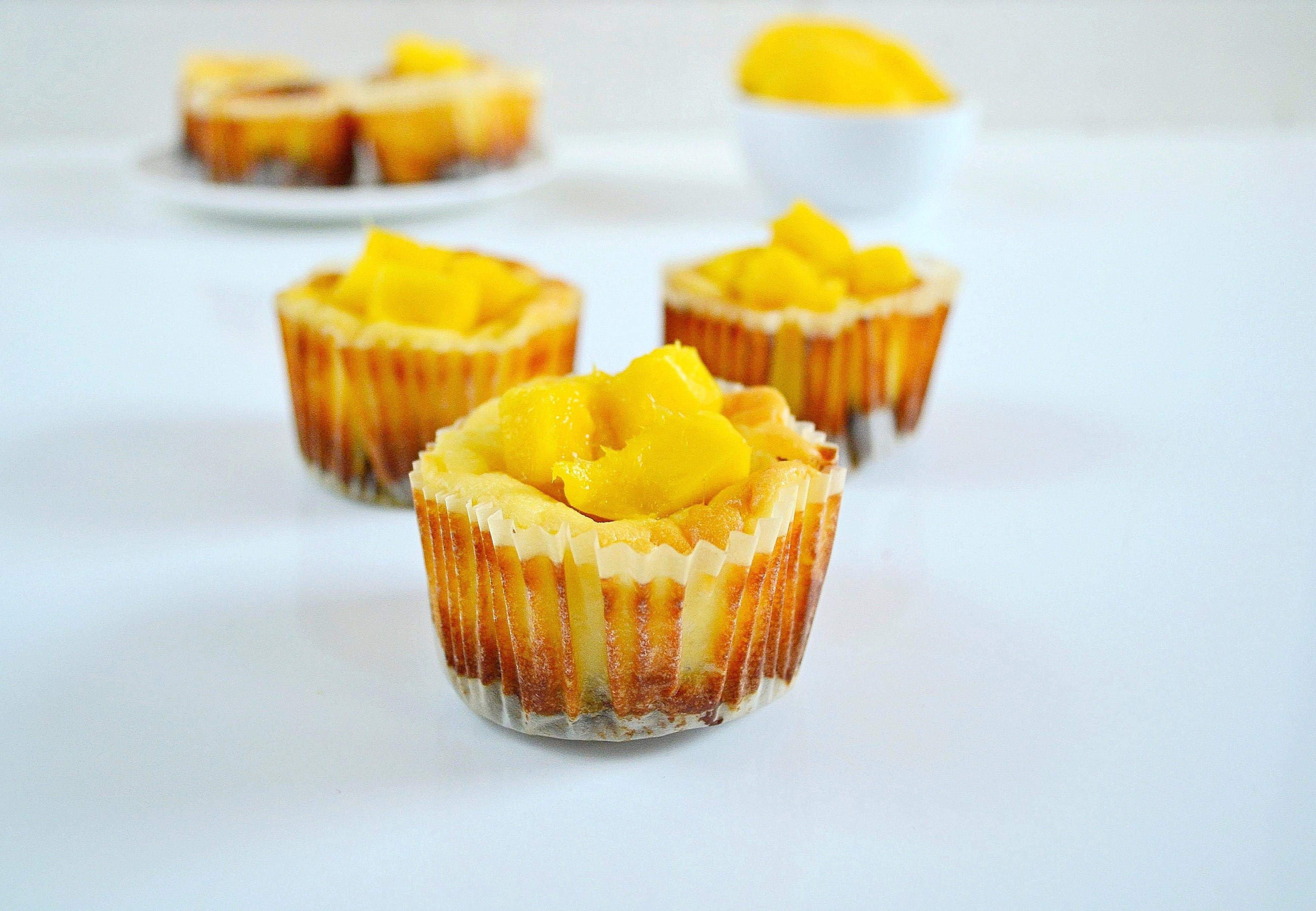 Serniczki z mango bez cukru