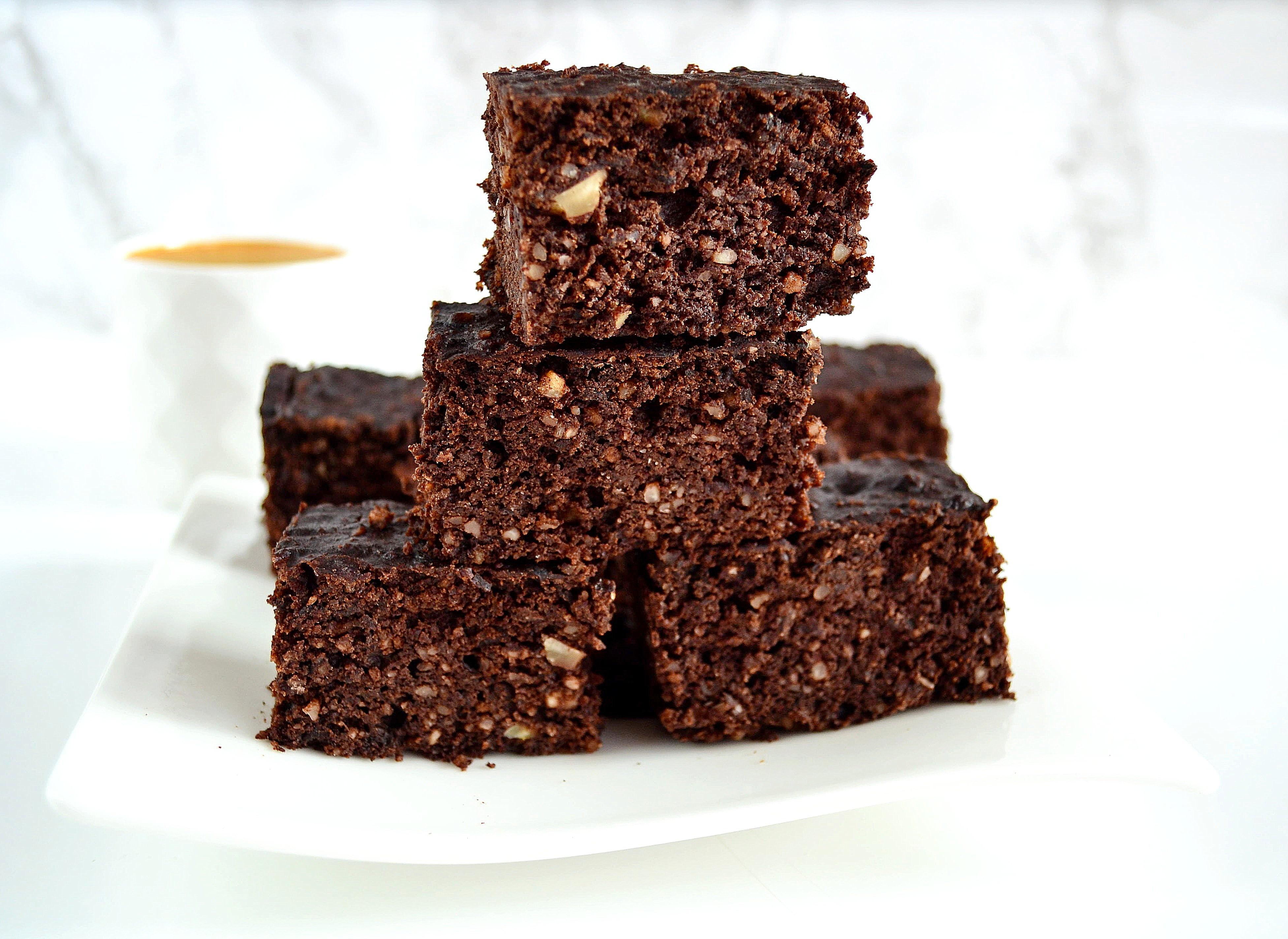 Brownie bez cukru i mąki