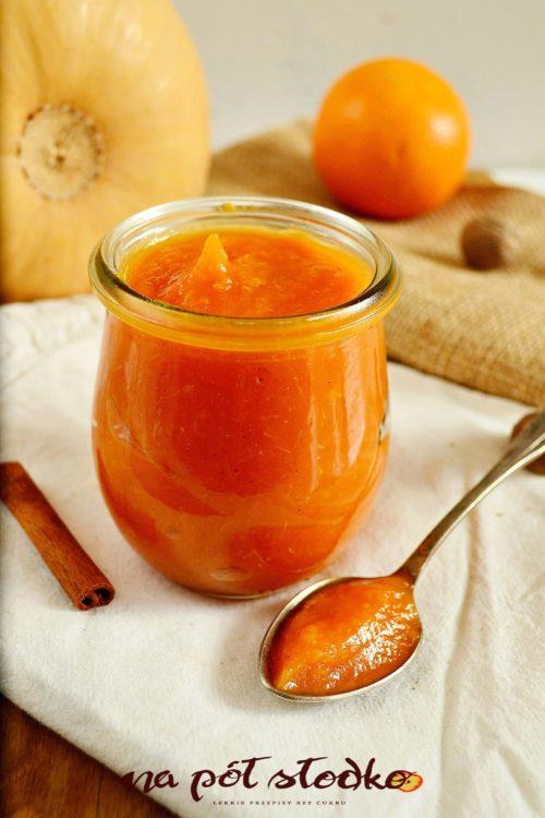 Dżem dyniowo-pomarańczowy z przyprawami bez cukru