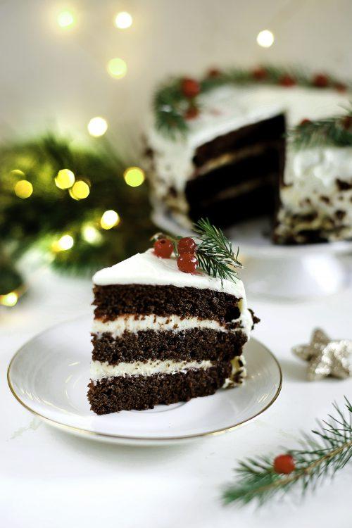 Daktylowy tort