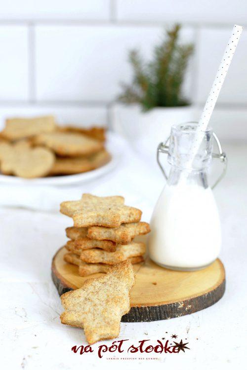 Ciasteczka migdałowo - Ciasteczka migdałowo - cytrynowe bez glutenu słodzone miodemcytrynowe